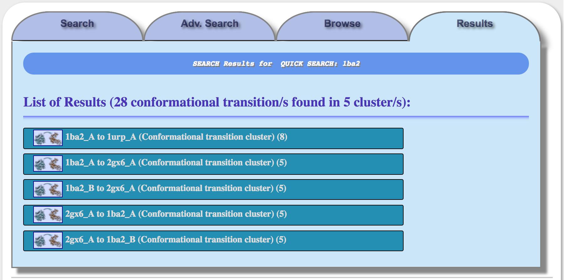 TransAtlas: Atlas of Protein Conformational Transitions